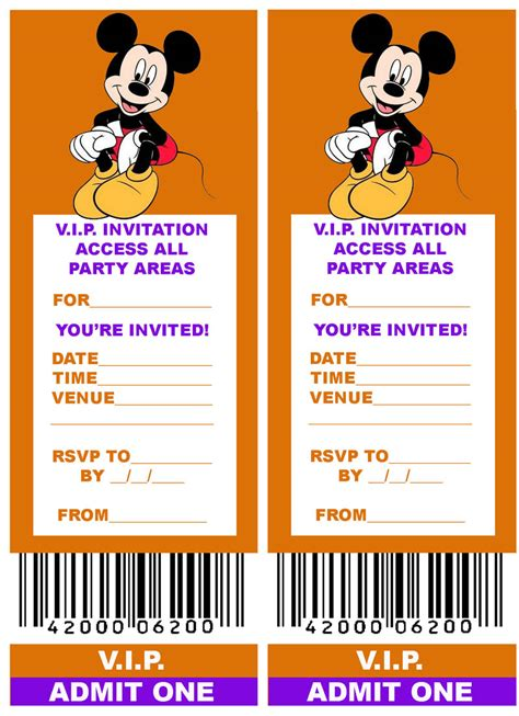 printable invitation to disney world disney coloring pages