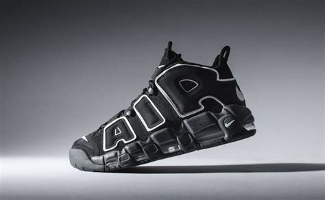 nike air sneakers nike air more uptempo black white 2016 sneaker bar detroit