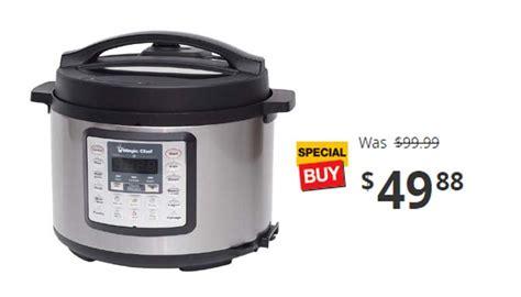 Multi Magic Cook magic chef 6 qt all in one multi cooker 49 88 reg 99