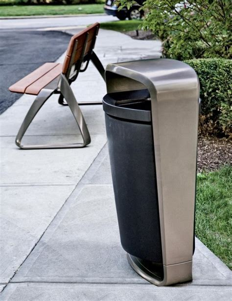 Landscape Forms Waste Receptacles 30 Best Images About Exterior Bins Design On