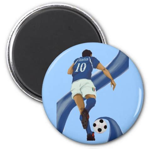 gifts for soccer fans football gifts for azzurri soccer fans magnet