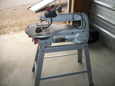 craftsman professional saw sears craftsman pro scroll saw 20 inch variable