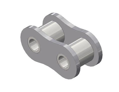 Senqcia Roller Chain Rantai Rs 40 2 senqcia inspire series 40 roller link asme ansi standard roller chain 1 2 quot pitch senqcia maxco