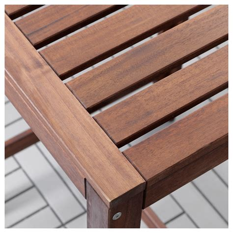 Outdoor Bar Table Ikea 196 Pplar 214 Bar Table Outdoor Brown Stained Ikea