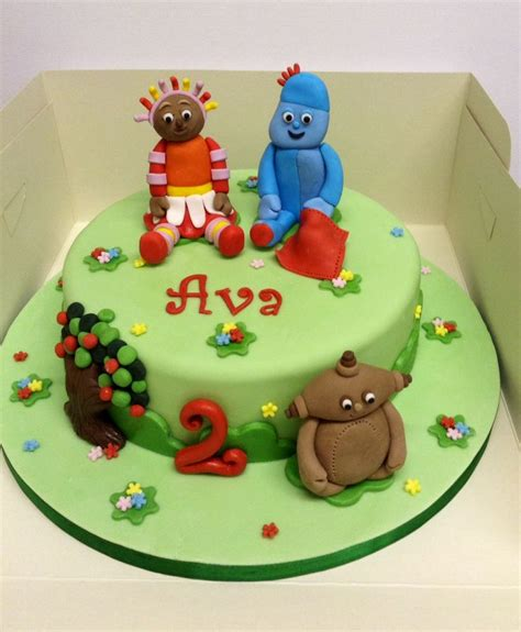In The Night Garden Cake Ideas Photograph In The Night Gar In The Garden Cake Ideas