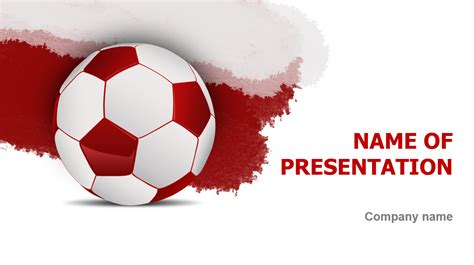 theme powerpoint nike download free poland soccer ball powerpoint template for