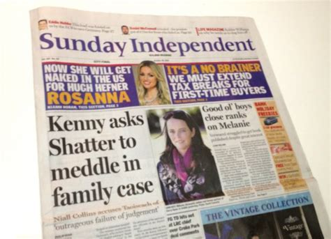 sunday independent sports section second shatter statement rejects inaccurate sunday