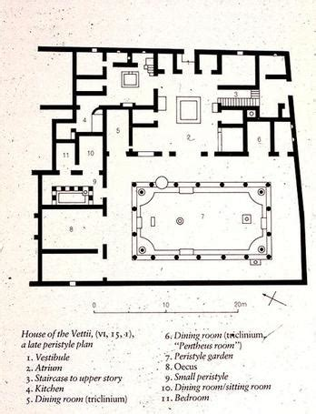 layout of the house of the vettii house of the vettii floor plan thefloors co