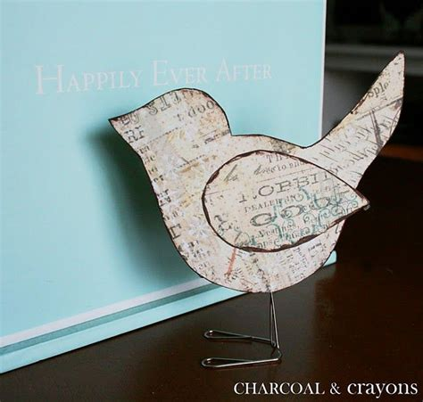 Birds With Paper - paper bird template papercraft