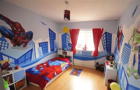 spiderman theme bedroom awesome boys and sons on pinterest