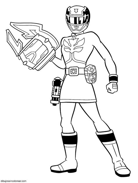 power rangers antonio coloring pages dibujos de personajes de power rangers samurai para