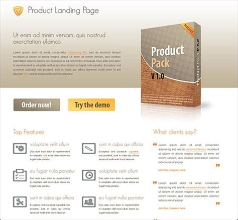 35 top landing page templates to boost your conversion