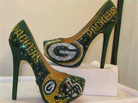 green bay packers high heel shoes 17 best images about all things greenbay on