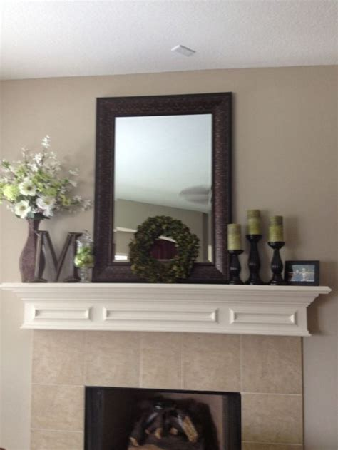 the mantle decor 25 best ideas about mantle decorating on