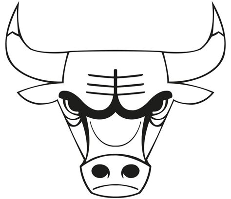 Chicago Bulls Logo Outline images of chicago bulls logo chicago bulls logo drawing sports horns the o