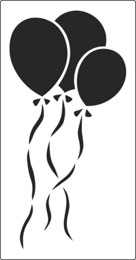 Letter Home Decor Balloon Stencil Available In Two Sizes Online