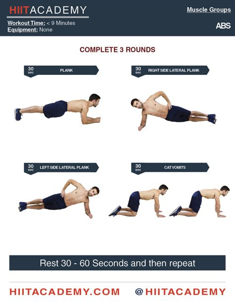 intense isometric abs hiit academy hiit workouts