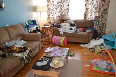 cluttered living room how to create a method for the madness that is homemaking