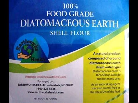 Diatomaceous Earth Detox For Withdrawal by Easy Weight Loss With De