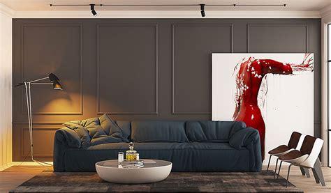 arredare con quadri come arredare coi quadri idee in stile moderno minimal