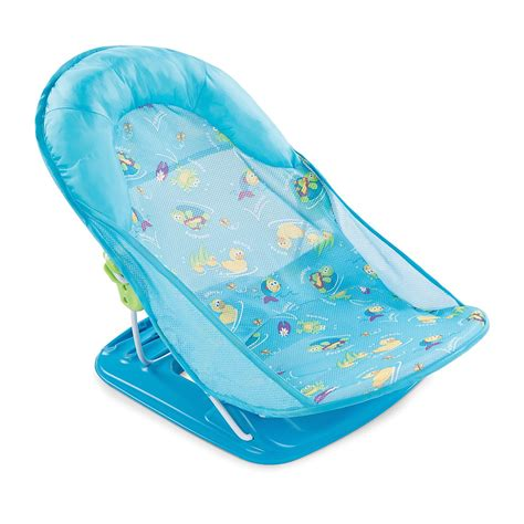 toddler seat for bathtub baby bath seat infant tub sink chair recline safety mother helper blue ebay