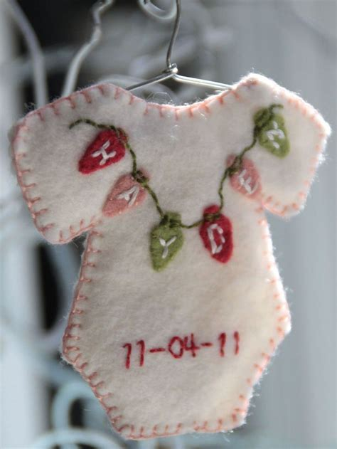 babys first christmas ornament christmas ornaments