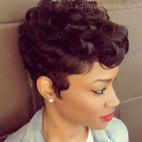 mommy wig hairstyles for black fashion women 100 real human hair wigs short wavy curly