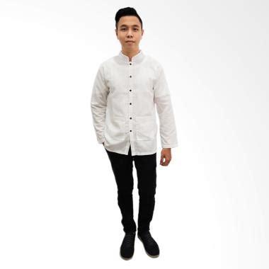 Piyama Dewasa Tangan Panjang Hello Hitam Nevy jual baju koko modern terbaru terlengkap harga murah blibli