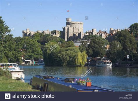 thames college berkshire suspended europe uk gb england berkshire windsor castle and river