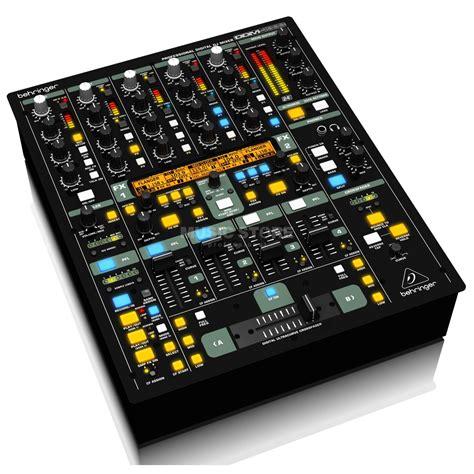 Mixer Behringer 4 Ch Behringer Ddm 4000 4 Channel Digital Dj Mixer