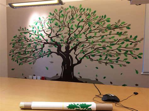 Oak Tree Wall allan gray oak tree wallart studios