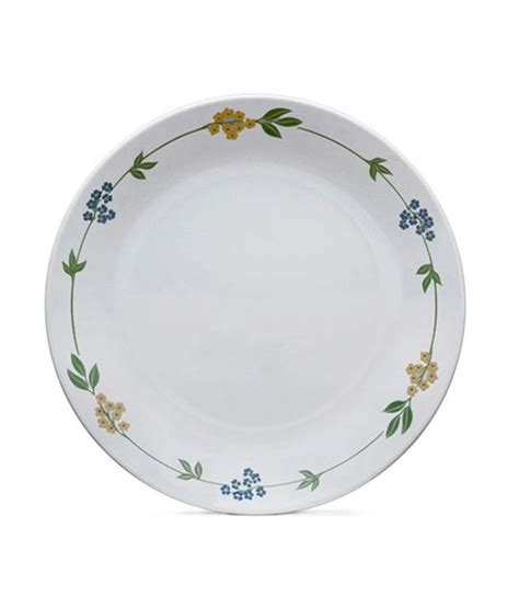 Small Cressendo Plate 1 Pcs corelle 6 pcs small plate livingware secret garden by merahomestore buy at best price in