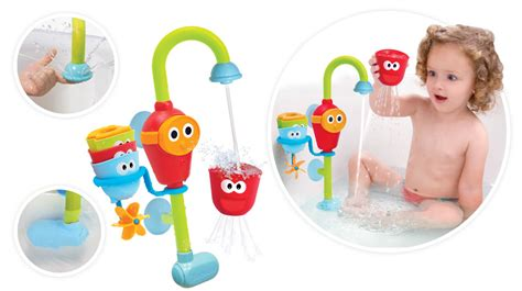 bathtub toys for toddlers flow n fill spout baby bath toys yookidoo