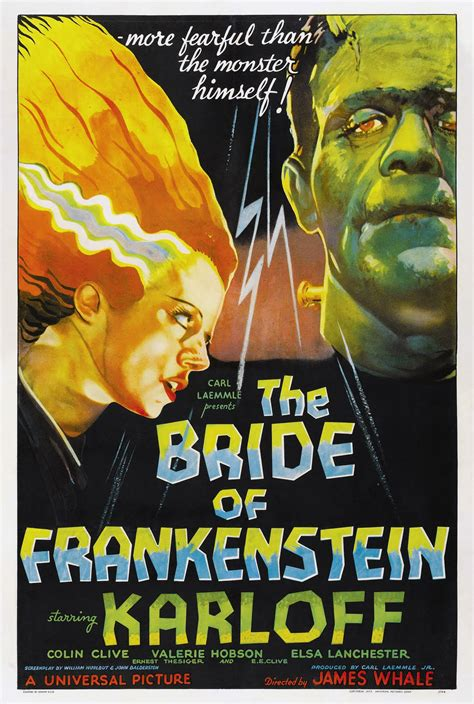 Poster Classic Vintage Frankenstein vintage horror posters to get you in the mood for