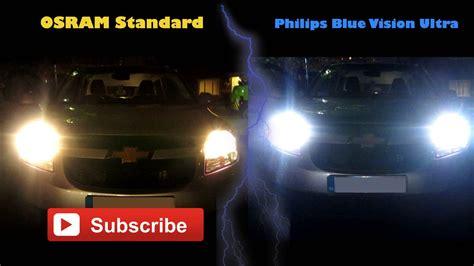 Lu Philips Blue Vision chevrolet orlando osram standard vs philips blue vision