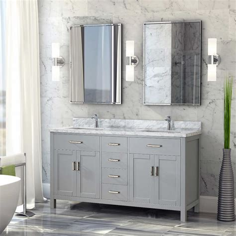 Bathroom Vanities Burlington Ontario Studio Bathe Kalize Vanity With Mirrors Kalize 60 Inch Vanity Vanities Costco 52