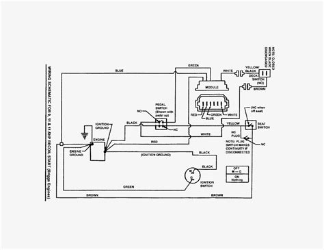 lawn mower wiring diagram wiring diagrams wiring