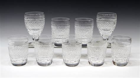 waterford crystal barware 9 waterford cut crystal cashel barware special