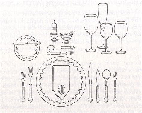 formal dinner table setting formal place setting layout crowdbuild for