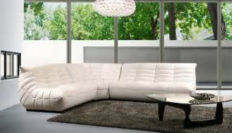 Contemporary Leather Sectional Sofas B 240b Contemporary Leather Sectional Sofa
