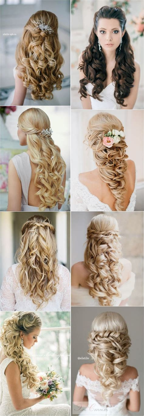 Wedding Hairstyles For Hair Half Up Half Tutorial by Best Hair Style For 40 Stunning Half Up Half