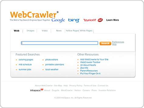 Infospace Lookup Kkpi Sejarah Search Egine Web Crawler