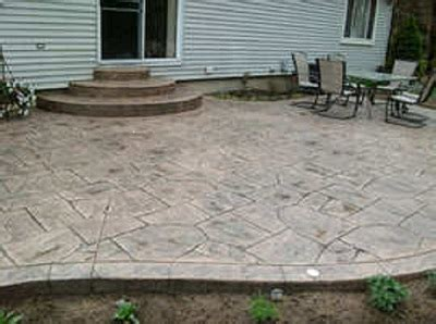 patio sted concrete patio ideas home interior design