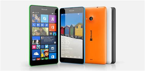 Microsoft Nokia microsoft launches non nokia smartphone lumia 535 offers 5mp front
