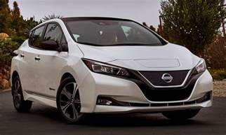 Modern Nissan All New Nissan Leaf Ready To Take On Chevy Bolt Tesla