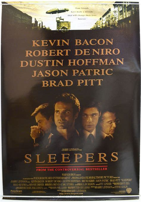 Sleepers Book True Story by Sleepers Original Cinema Poster From Pastposters