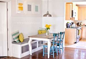 get this look corner banquette remodelaholic