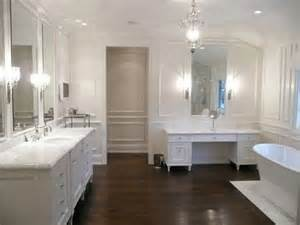 Hardwood Floors In Bathroom Hardwood Floor In The Bathroom Kate Collins Interiors
