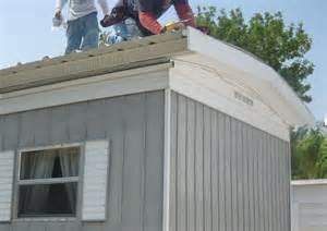 mobile home roof repair portfolio