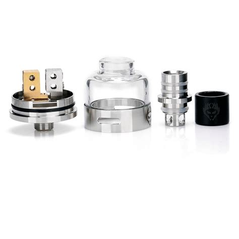 Rda Atomizer 22mm authentic oumier monkey king silver rda rebuildable